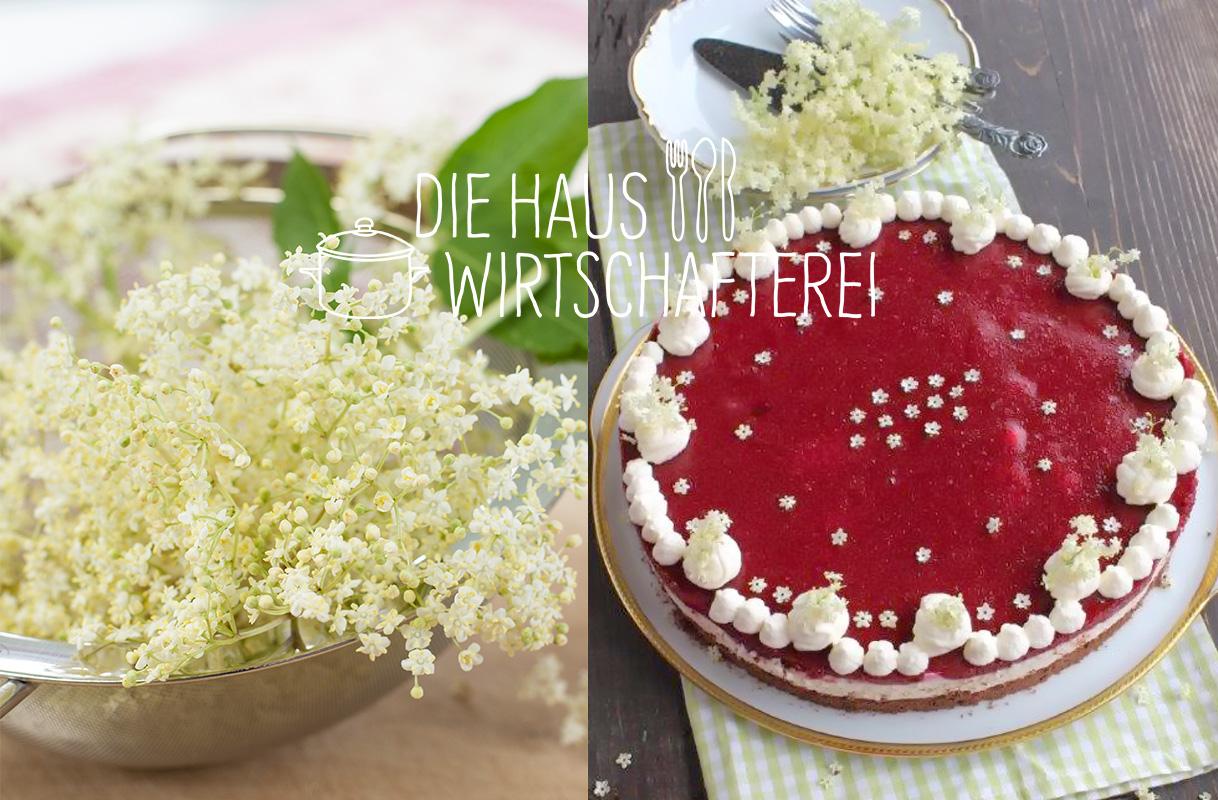 Aus Hollerblüten lässt sich so Manches zaubern …