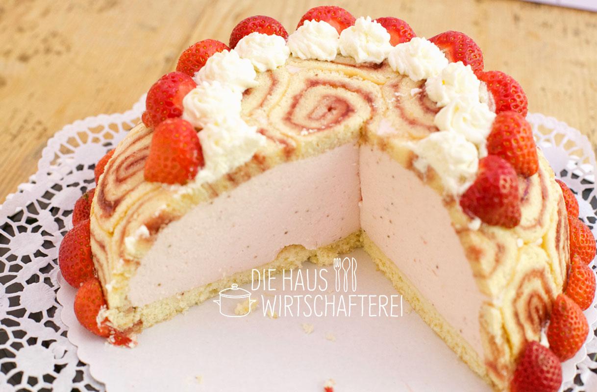 Das Siegerrezept: eine köstliche Erdbeercharlotte