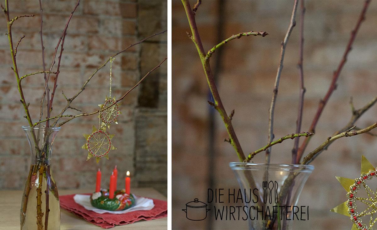 Barbarazweige zum 4. Advent