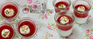 Dessert mit Himbeeren Rezept