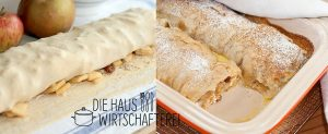 Apfelstrudel auf bayerische Art