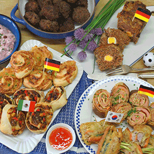 Fingerfood zur WM
