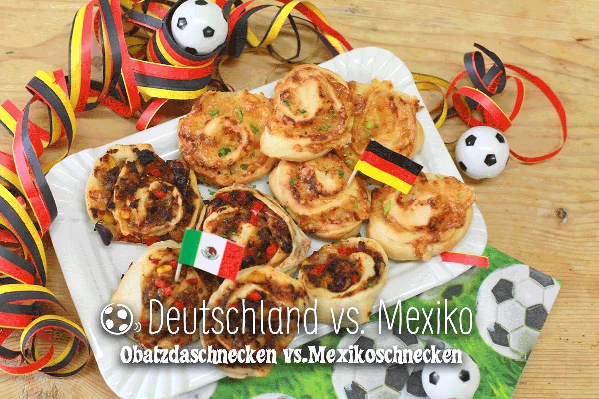 Gruppenspiel Deutschland : Mexiko