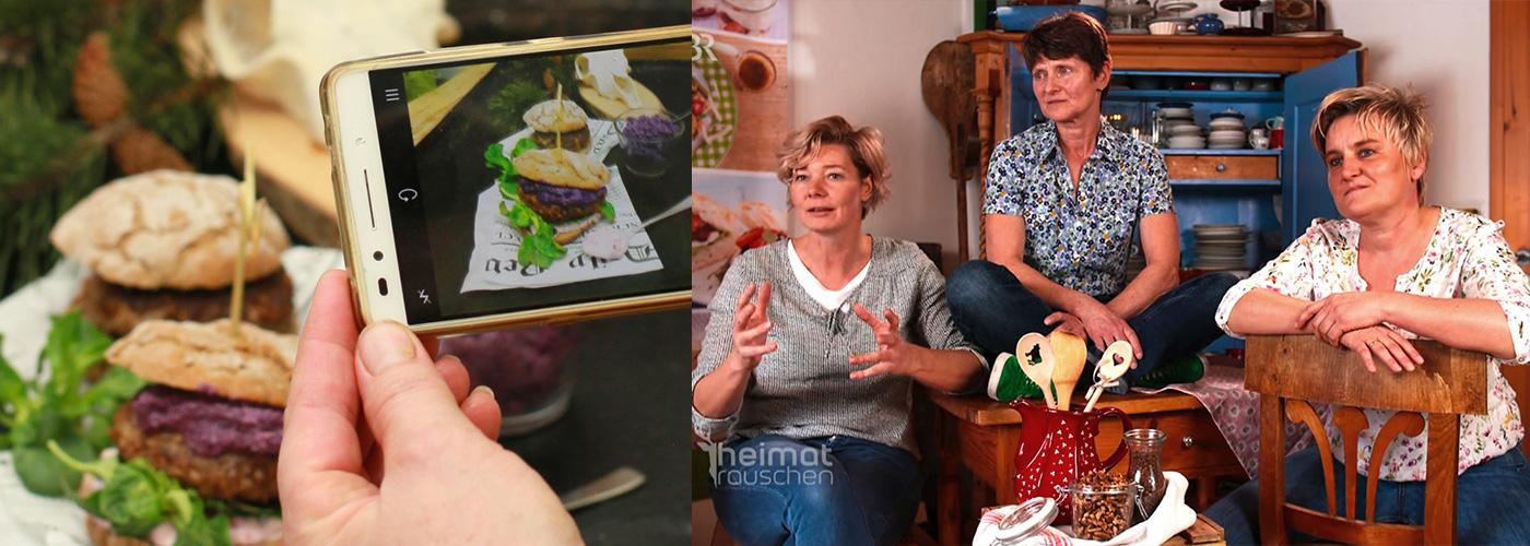 Hütten-Burger HEIMATRAUSCHEN