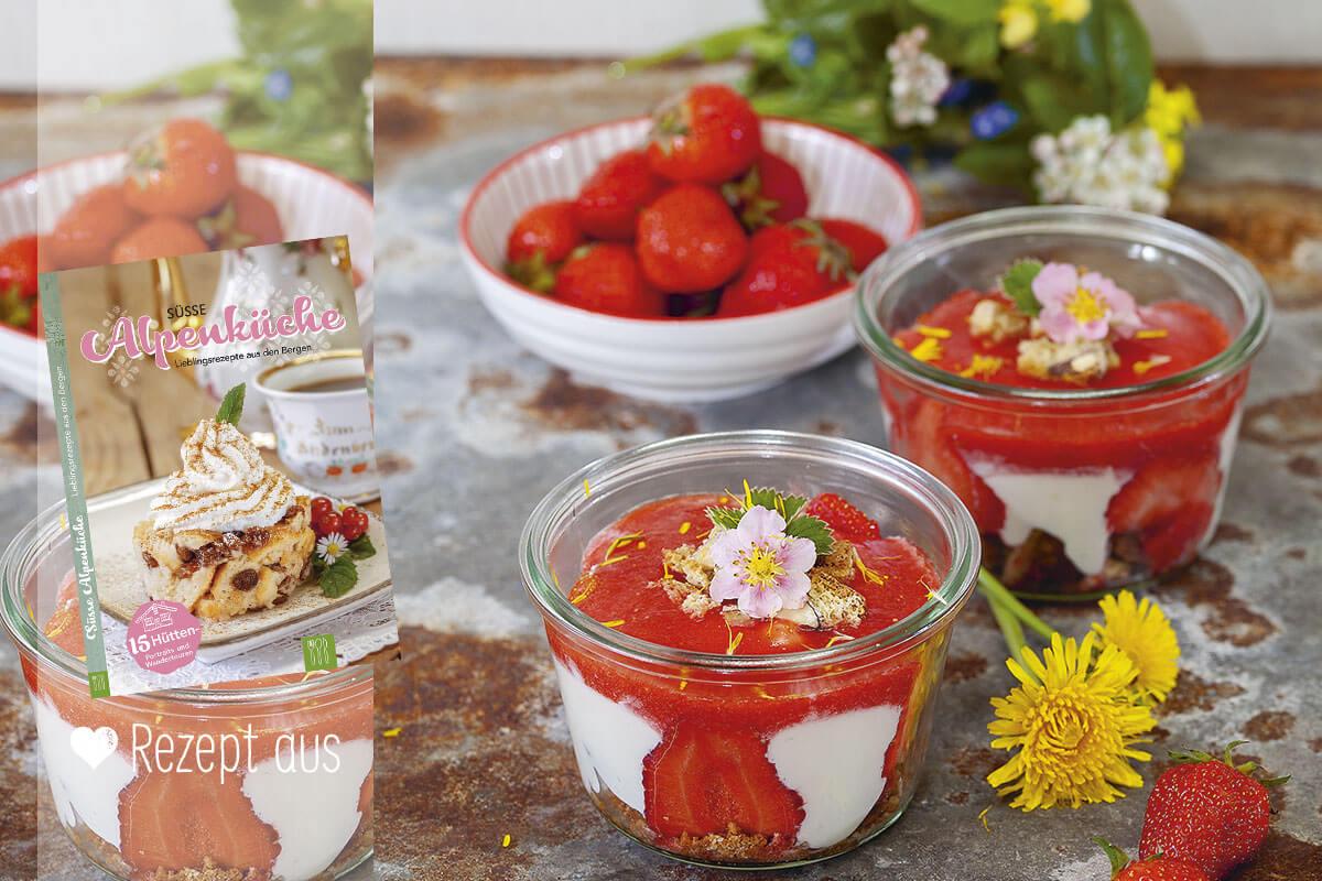 Nachspeise Erdbeeren