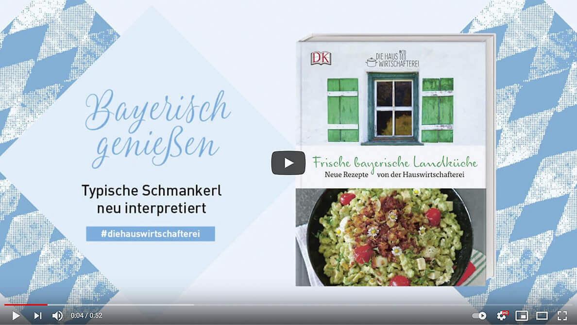 Kochbuch Bayerische Küche